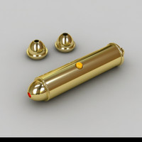 3d laser pointer model