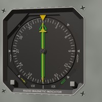 rmi radio magnetic indicator 3d model