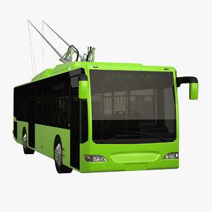 long city bus 3d 3ds