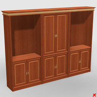 bookcase cabinet 3d model