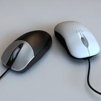Microsoft + HP computer mice