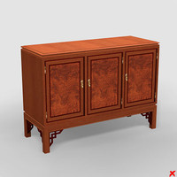 3d sideboard cabinet