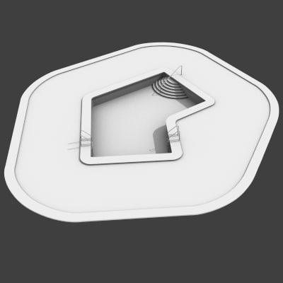 3d model of swimming pool