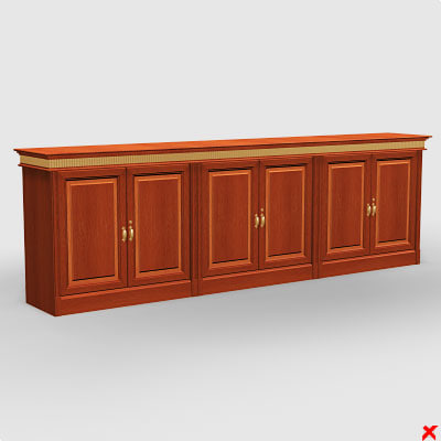 sideboard cabinet 3d model