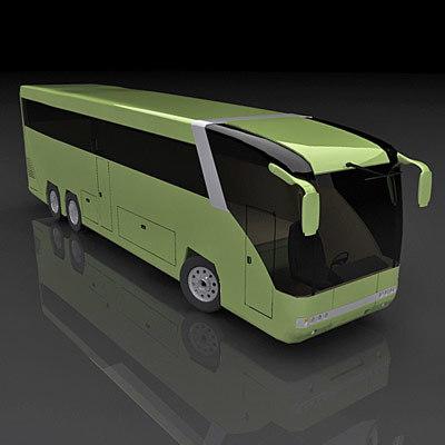 solaris coach 3d model
