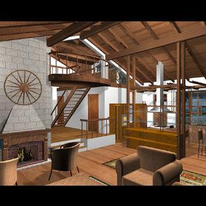 max house interior