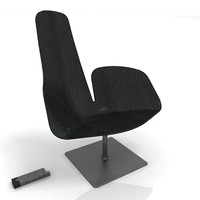 moroso fjord armchair 3d max
