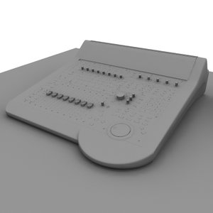 mixer board studio 3d model
