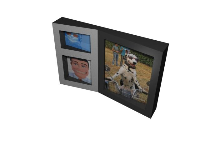 3d max funky picture frame