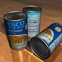 tesco beans 3d max