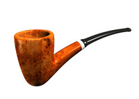 smoking pipe 3d max