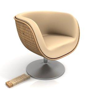 maya varaschin shell poltrona armchair