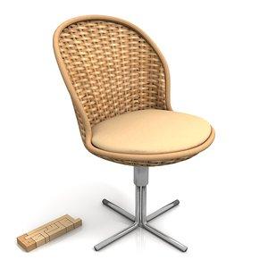3d varaschin shell sedia chair