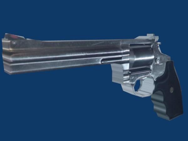 magnum pistol x