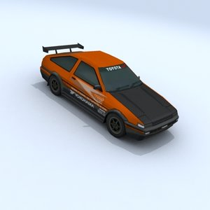 vehicle car tuning 3d model