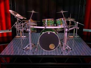 maya studio kit drum sets