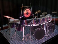 force 5200 drum sets 3d model