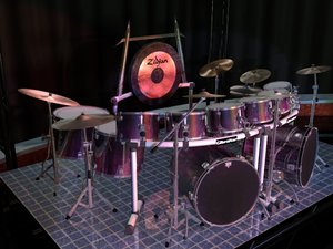 force 5200 drum sets 3d model