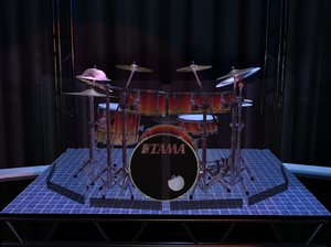 3ds max kit drum sets