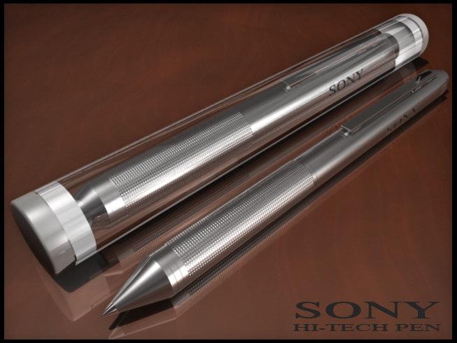 sony pen 3d model
