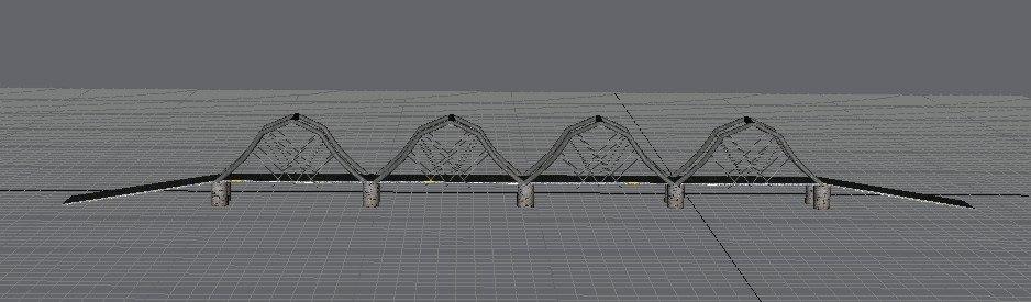 free bridge 3d model