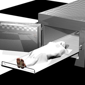 3ds max morgue refrigerator