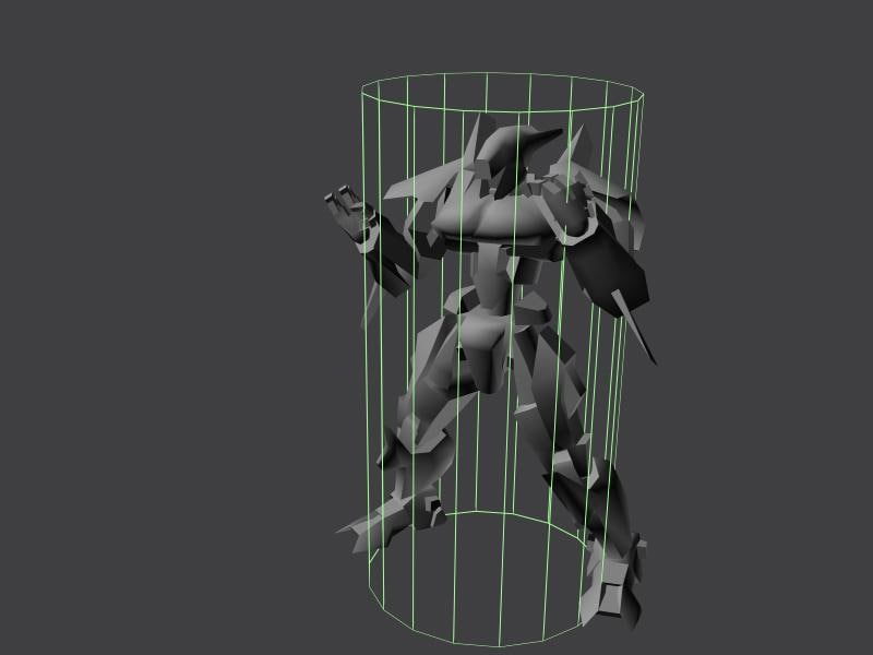 bot character unreal tournament 3d model