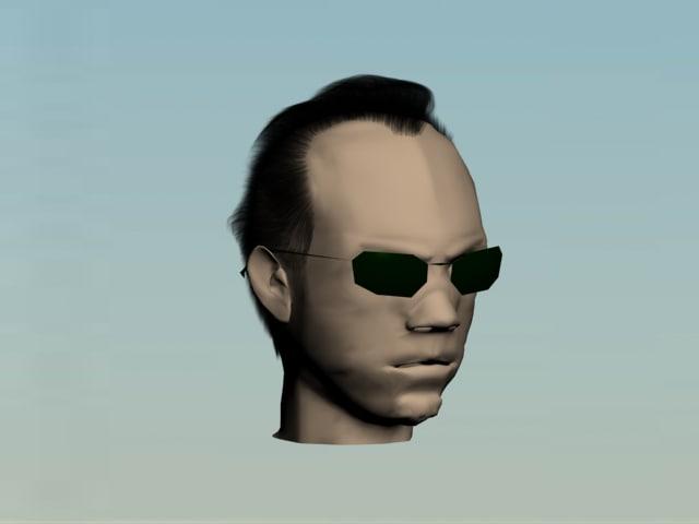 3d smith head