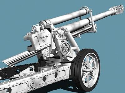 german mountain howitzer 3ds