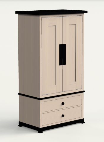 3d entertainment center model