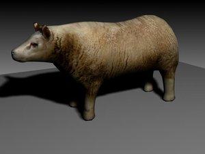 3d max sheep