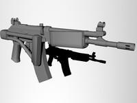 free max mode idf galil rifle