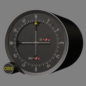 vor instrument 3d model
