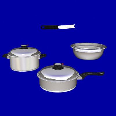 lightwave cookware pan pot frying