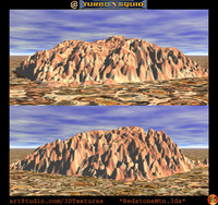 desert mountain 3ds