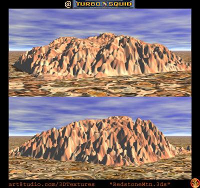 desert mountain 3ds