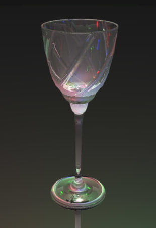 liqueur glass 3d 3ds