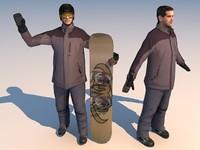 Sport 04 Snowboarder