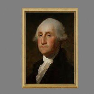 3d portraits presidents