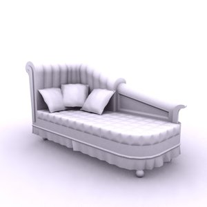 chaise lounge 3ds