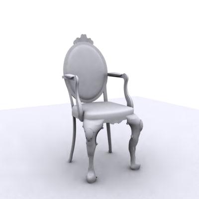 14 chair 3d model
