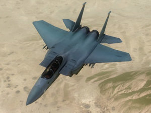 usaf f15e strike eagle 3d model