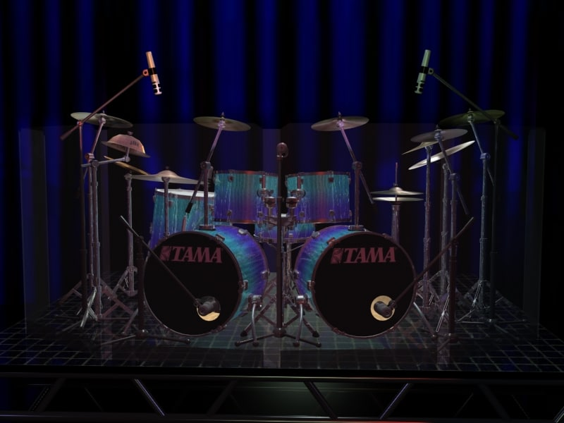 max gemini studio drum sets