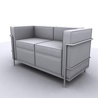 3d modern seat