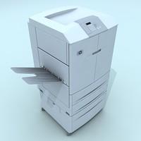 laser printer 3d model