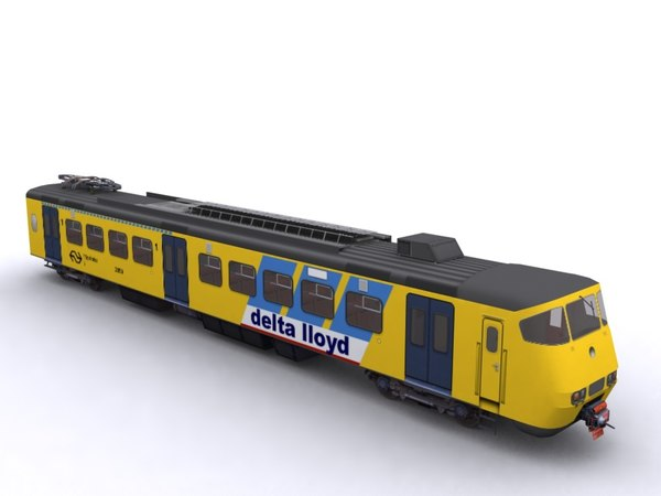 sprinter ns train 3d max
