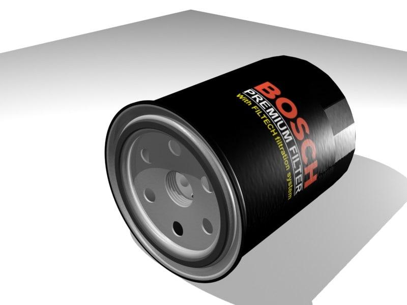 3d bosch oil filter
