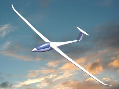 glider nimbus 3d model