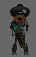 free gmax gun 3d model