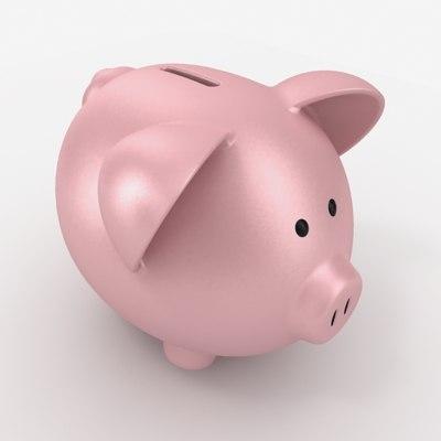 3ds max piggy bank